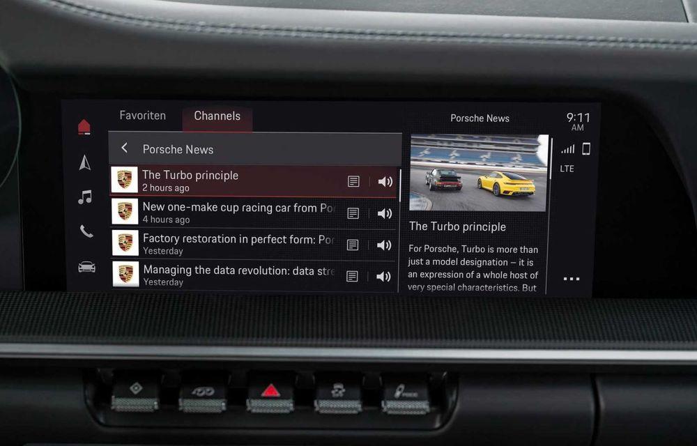 Sistemul multimedia al germanilor de la Porsche primește o nouă versiune: interfață regândită și Android Auto - Poza 11