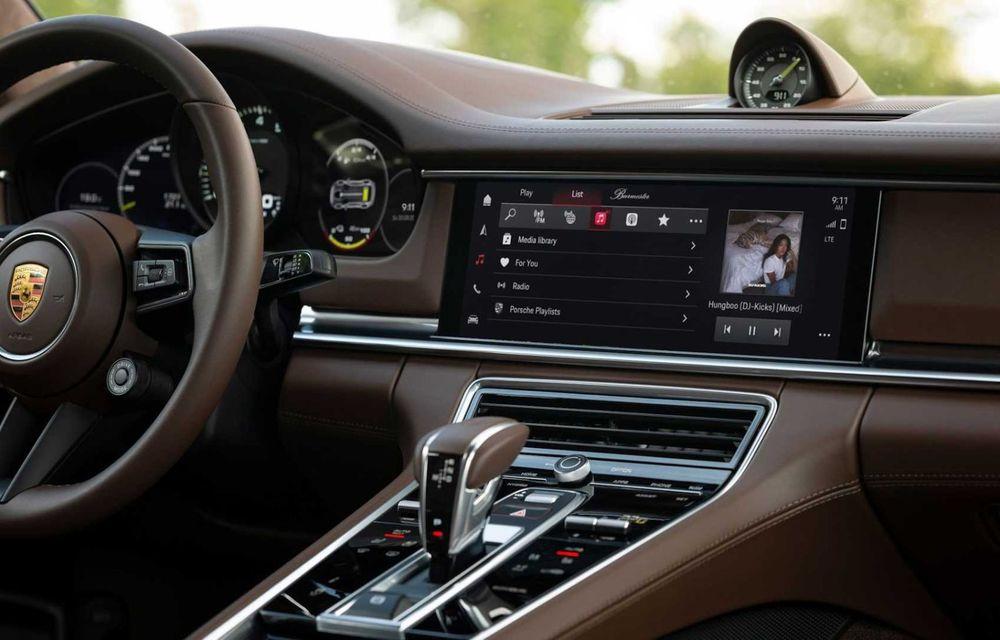 Sistemul multimedia al germanilor de la Porsche primește o nouă versiune: interfață regândită și Android Auto - Poza 6
