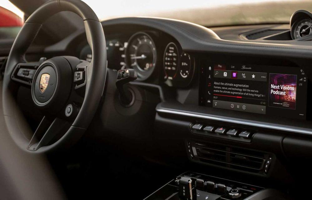 Sistemul multimedia al germanilor de la Porsche primește o nouă versiune: interfață regândită și Android Auto - Poza 7
