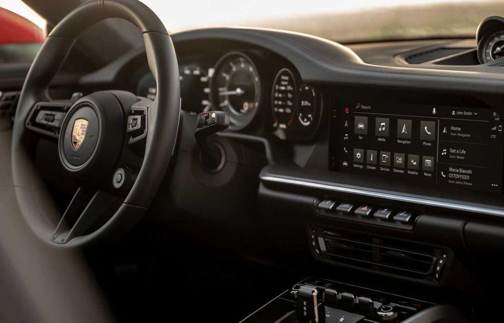 Sistemul multimedia al germanilor de la Porsche primește o nouă versiune: interfață regândită și Android Auto - Poza 4