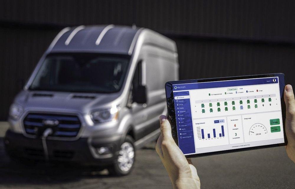 Ford cumpără o platformă care oferă servicii de administrare a stațiilor de încărcare pentru mașini electrice - Poza 1