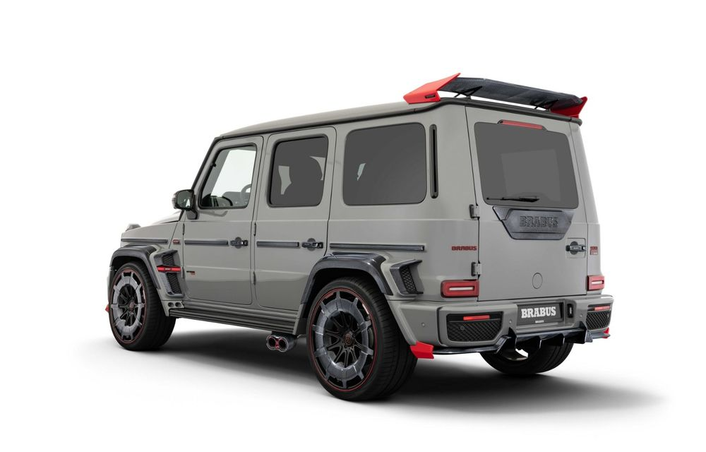 Noul Brabus 900 Rocket Edition este un Mercedes-AMG G63 cu 900 CP și producție limitată - Poza 3