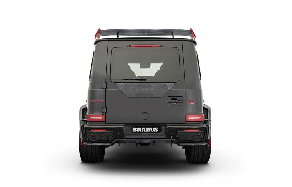 Noul Brabus 900 Rocket Edition este un Mercedes-AMG G63 cu 900 CP și producție limitată - Poza 6