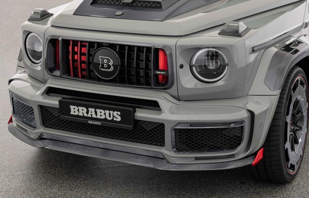 Noul Brabus 900 Rocket Edition este un Mercedes-AMG G63 cu 900 CP și producție limitată - Poza 25