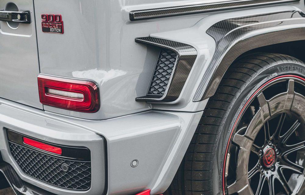 Noul Brabus 900 Rocket Edition este un Mercedes-AMG G63 cu 900 CP și producție limitată - Poza 28