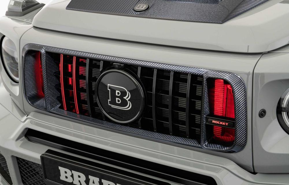 Noul Brabus 900 Rocket Edition este un Mercedes-AMG G63 cu 900 CP și producție limitată - Poza 24