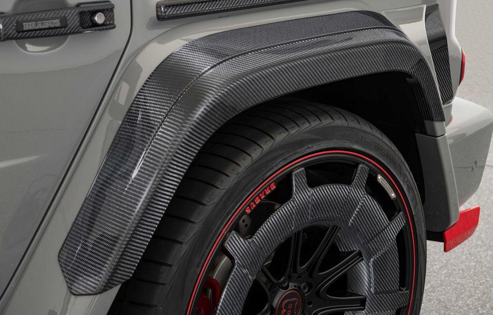 Noul Brabus 900 Rocket Edition este un Mercedes-AMG G63 cu 900 CP și producție limitată - Poza 29