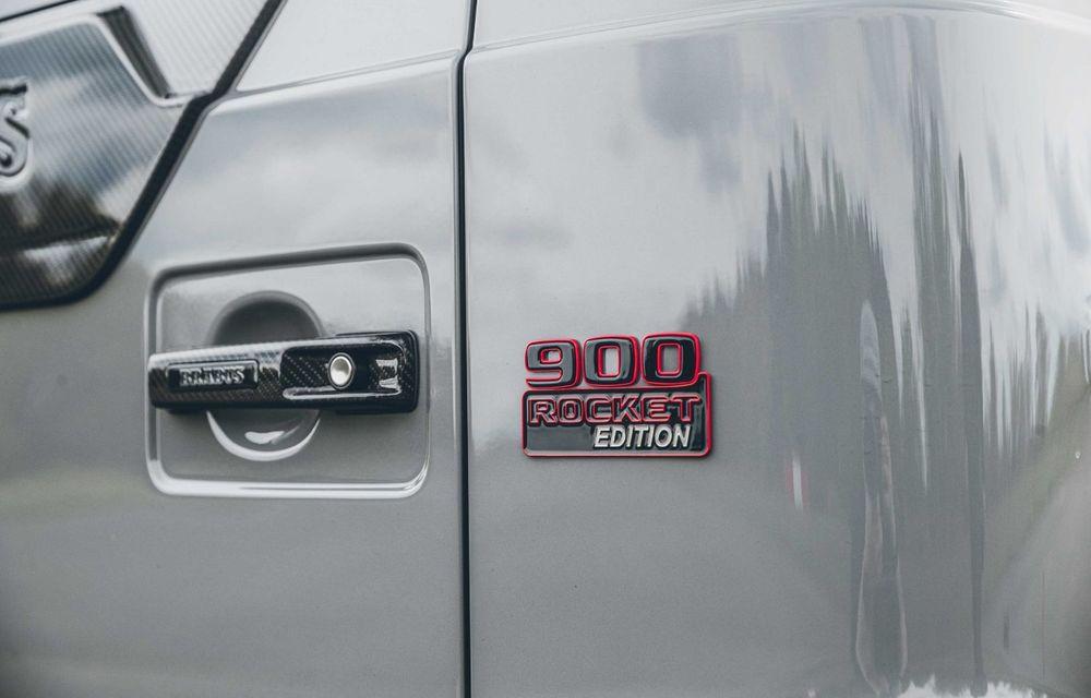 Noul Brabus 900 Rocket Edition este un Mercedes-AMG G63 cu 900 CP și producție limitată - Poza 27