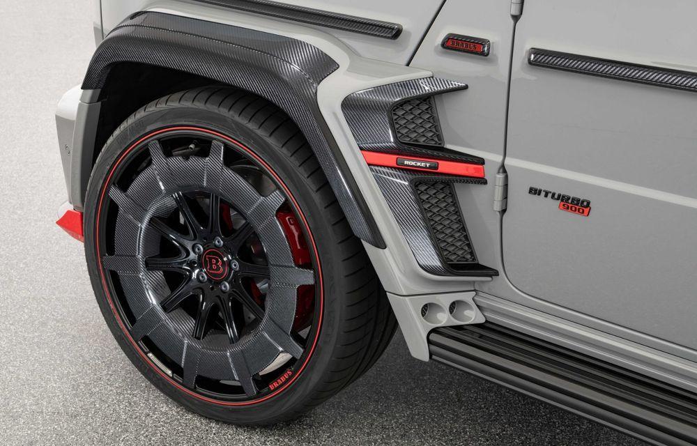 Noul Brabus 900 Rocket Edition este un Mercedes-AMG G63 cu 900 CP și producție limitată - Poza 26