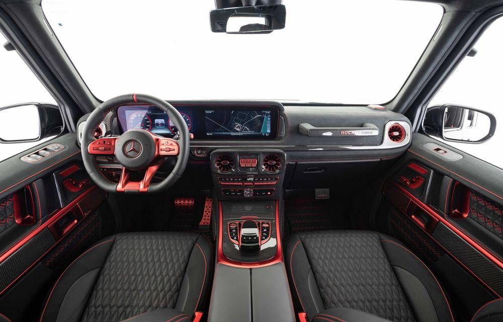 Noul Brabus 900 Rocket Edition este un Mercedes-AMG G63 cu 900 CP și producție limitată - Poza 13