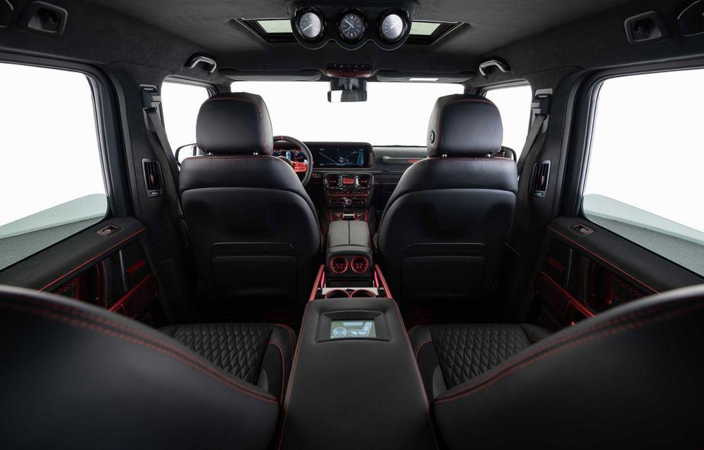 Noul Brabus 900 Rocket Edition este un Mercedes-AMG G63 cu 900 CP și producție limitată - Poza 14