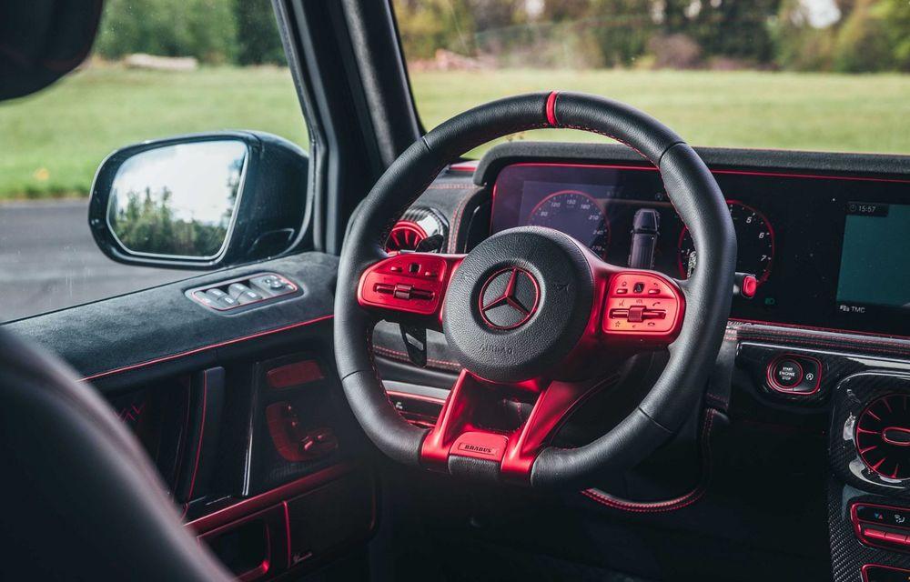 Noul Brabus 900 Rocket Edition este un Mercedes-AMG G63 cu 900 CP și producție limitată - Poza 15