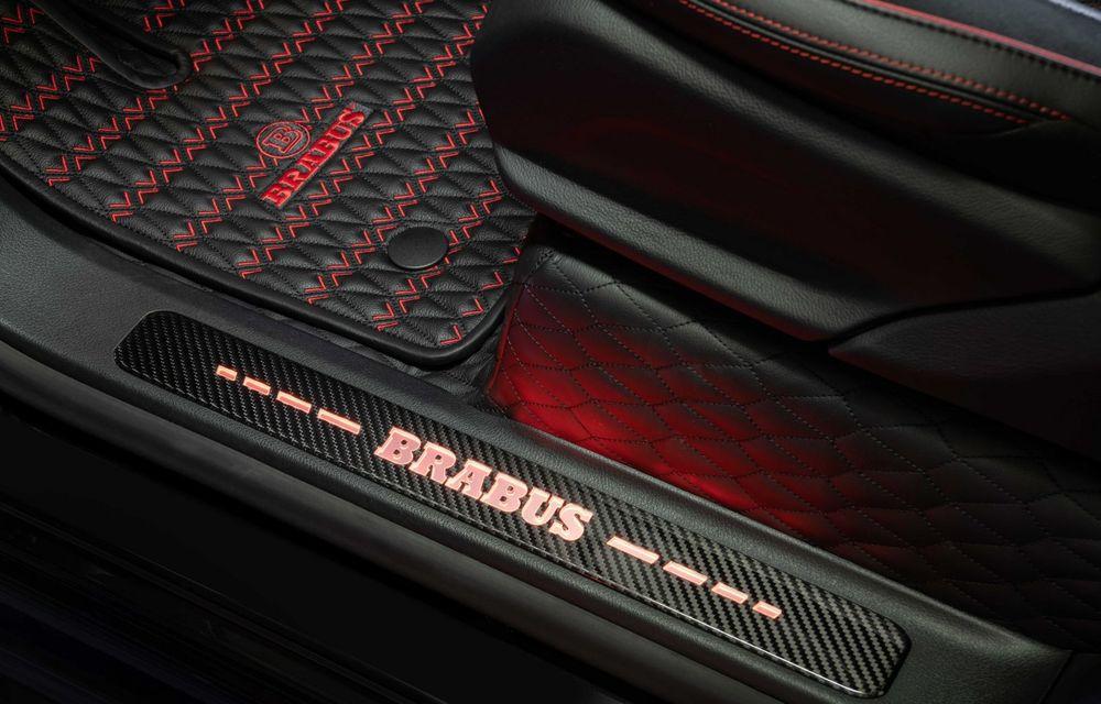 Noul Brabus 900 Rocket Edition este un Mercedes-AMG G63 cu 900 CP și producție limitată - Poza 18