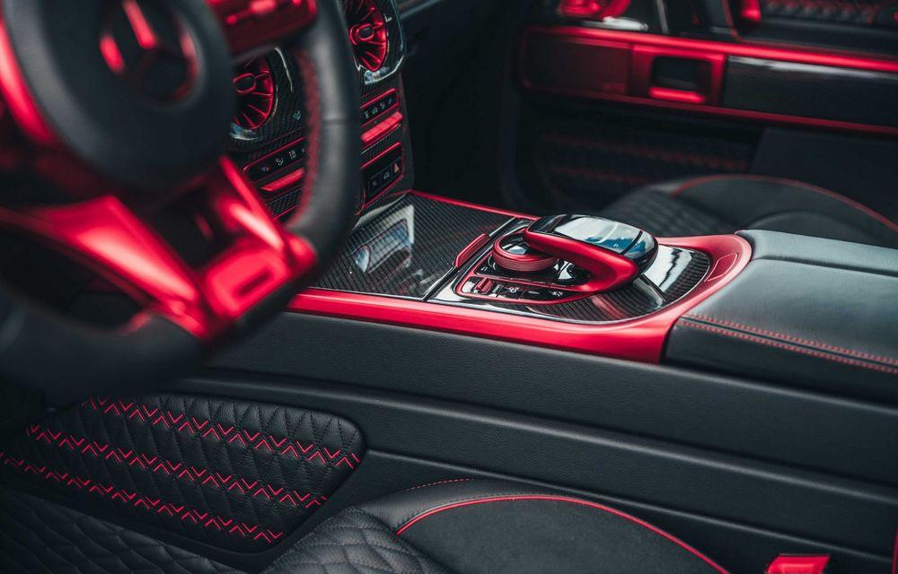 Noul Brabus 900 Rocket Edition este un Mercedes-AMG G63 cu 900 CP și producție limitată - Poza 20