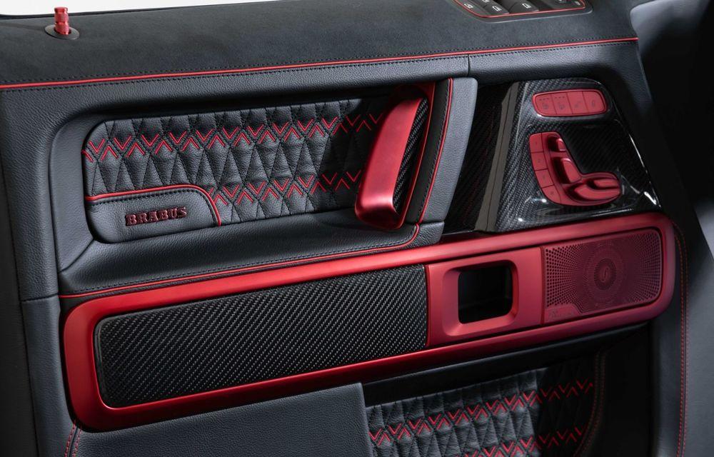 Noul Brabus 900 Rocket Edition este un Mercedes-AMG G63 cu 900 CP și producție limitată - Poza 23