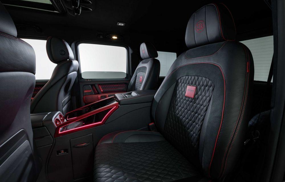 Noul Brabus 900 Rocket Edition este un Mercedes-AMG G63 cu 900 CP și producție limitată - Poza 16