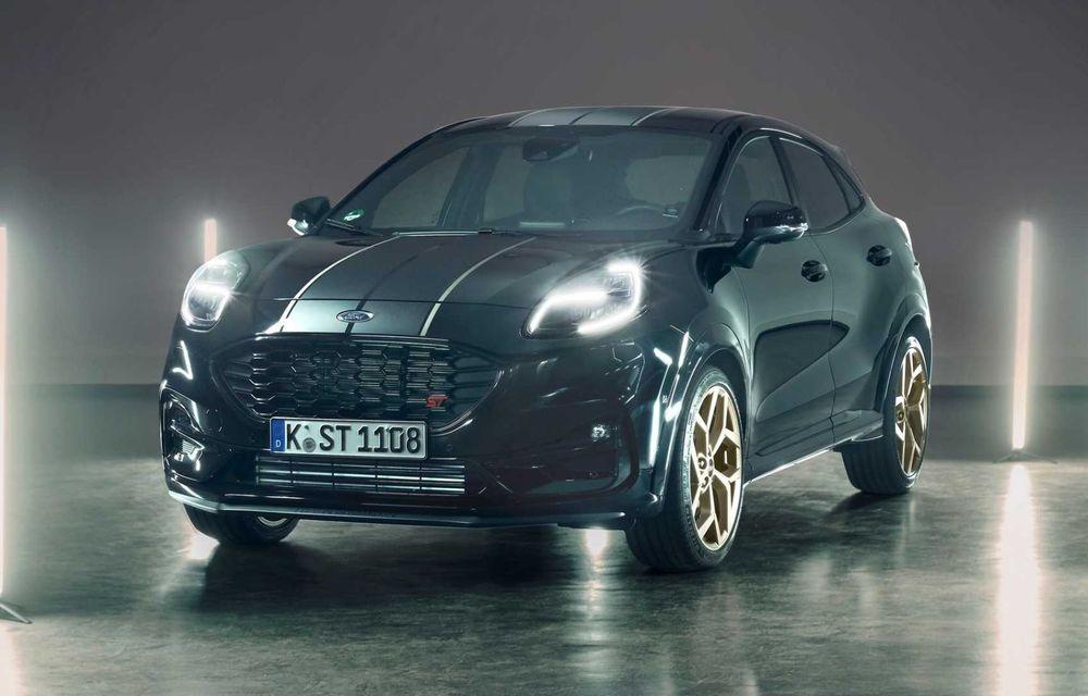 Fanii au decis: Gold Edition este numele noii ediții speciale Ford Puma ST produsă la Craiova - Poza 1