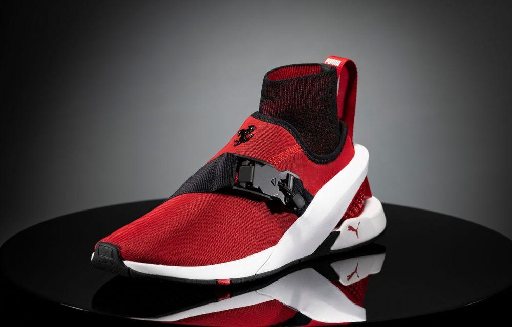 Designul lui Ferrari SF90 Stradale a dat naștere unor pantofi sport care costă 450 de dolari - Poza 1