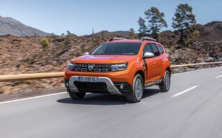 Dacia Duster facelift, prezentat oficial: vânzările încep în septembrie 2021