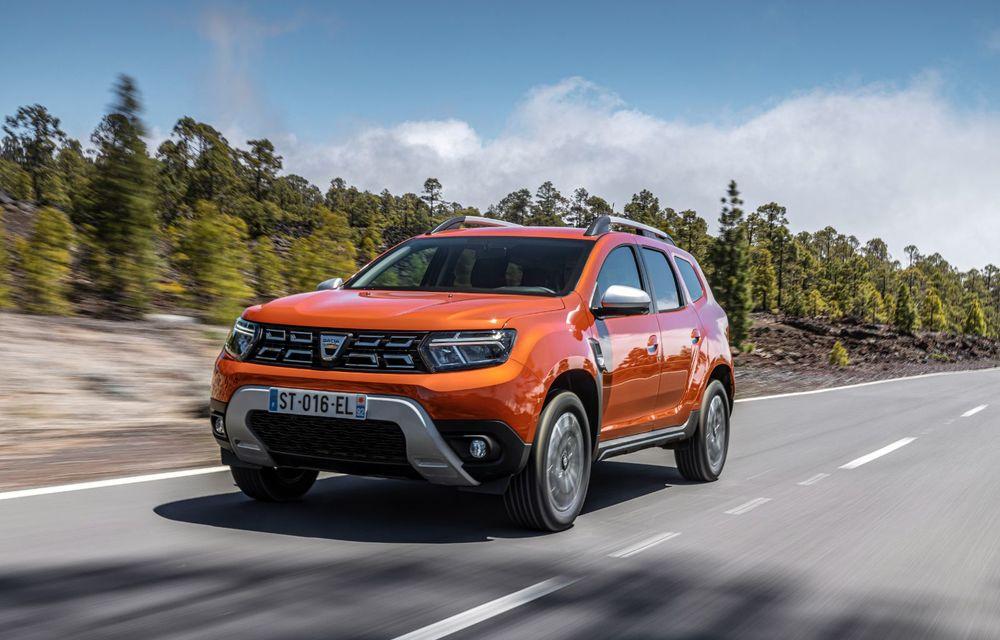 Dacia Duster facelift, prezentat oficial: vânzările încep în septembrie 2021 - Poza 15