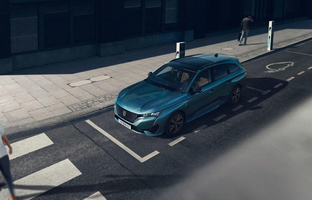 Noul Peugeot 308 SW, varianta break a lui 308, a debutat oficial - Poza 15