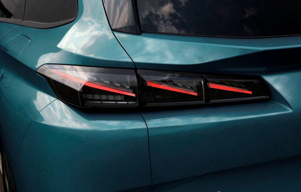 Noul Peugeot 308 SW, varianta break a lui 308, a debutat oficial - Poza 22