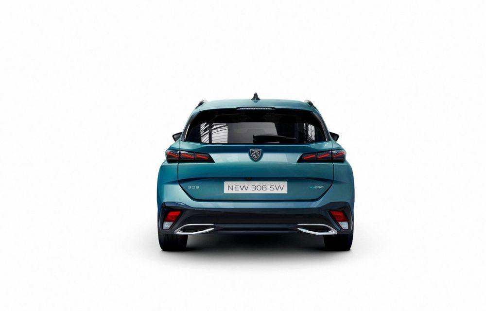 Noul Peugeot 308 SW, varianta break a lui 308, a debutat oficial - Poza 6