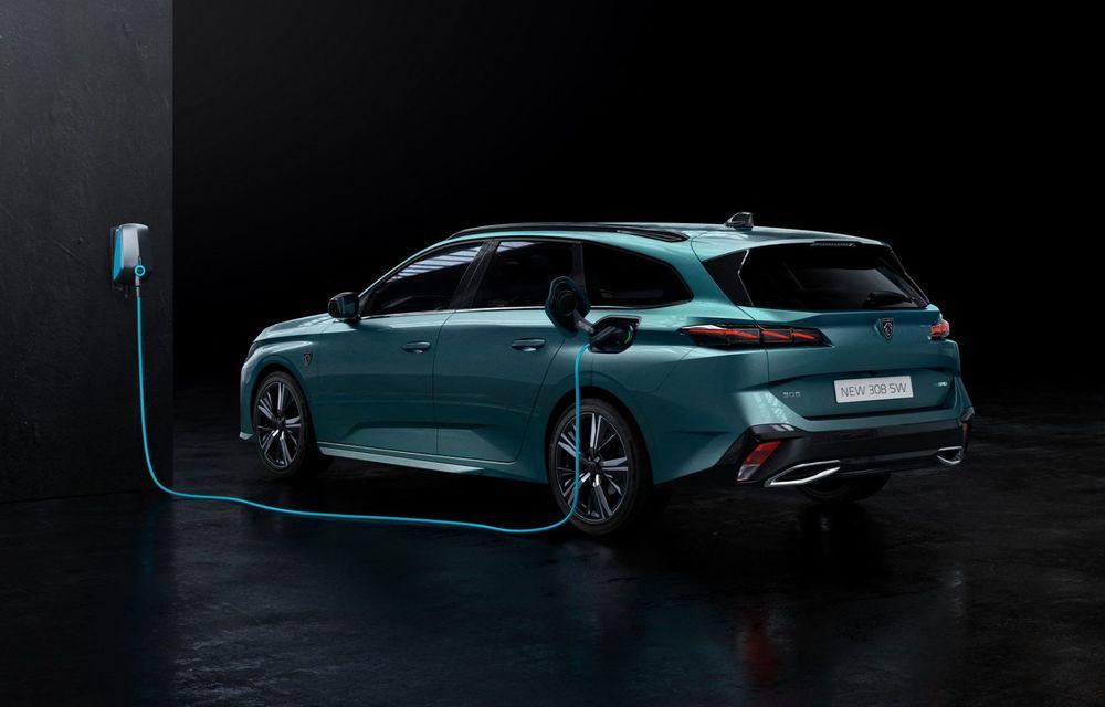 Noul Peugeot 308 SW, varianta break a lui 308, a debutat oficial - Poza 10