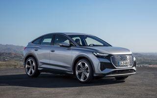 Prețuri Audi Q4 Sportback e-tron în România: start de la 47.700 de euro