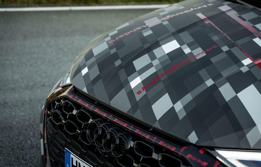 Primele imagini cu noul Audi RS3: motor de 400 de cai și o setare specială pentru drifturi - Poza 26