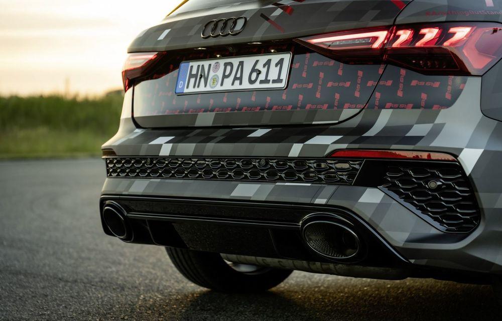 Primele imagini cu noul Audi RS3: motor de 400 de cai și o setare specială pentru drifturi - Poza 27