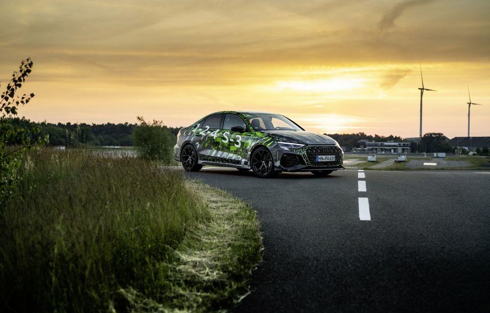 Primele imagini cu noul Audi RS3: motor de 400 de cai și o setare specială pentru drifturi - Poza 15