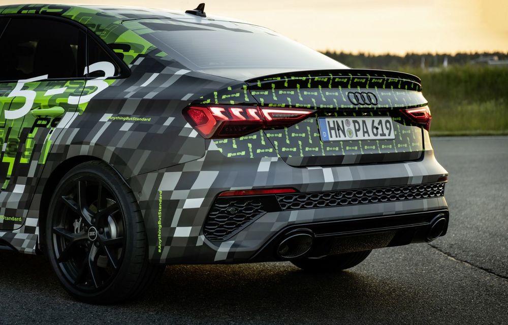 Primele imagini cu noul Audi RS3: motor de 400 de cai și o setare specială pentru drifturi - Poza 28