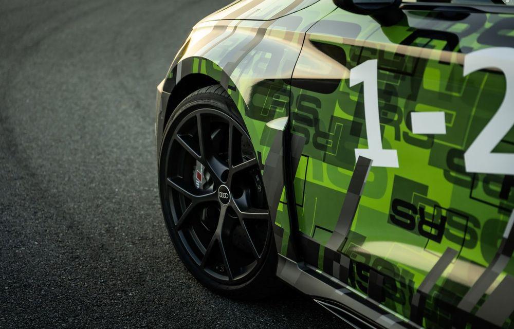 Primele imagini cu noul Audi RS3: motor de 400 de cai și o setare specială pentru drifturi - Poza 29