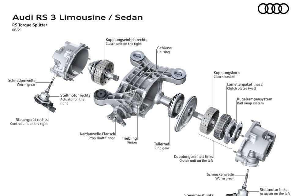 Primele imagini cu noul Audi RS3: motor de 400 de cai și o setare specială pentru drifturi - Poza 33