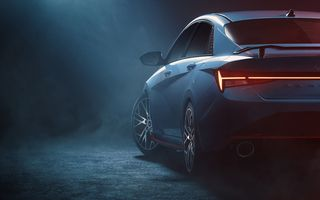 Primele imagini teaser cu viitorul Hyundai Elantra N