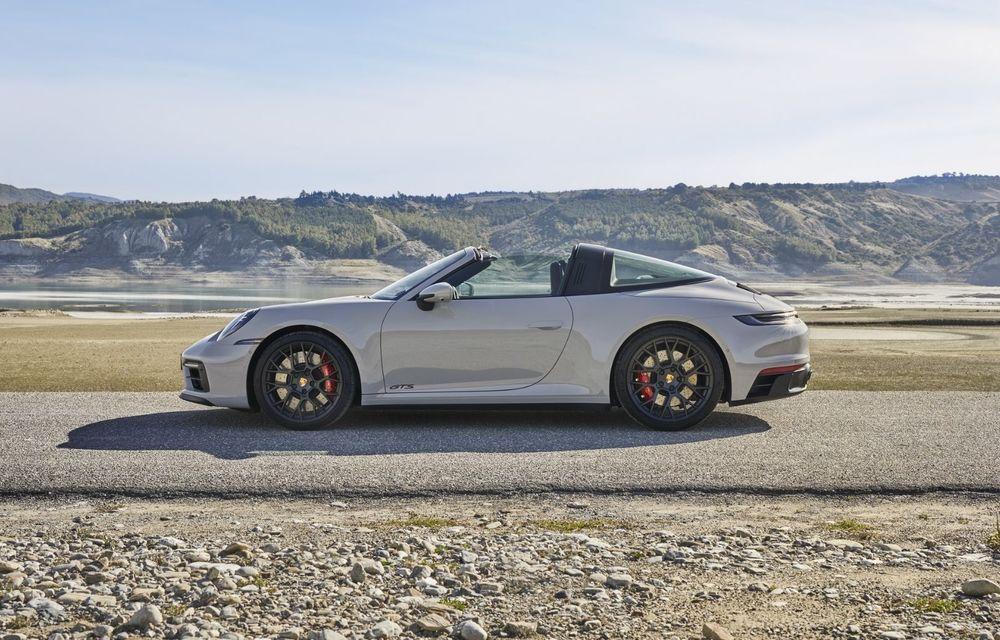 Noul Porsche 911 GTS: 480 de cai putere și transmisie manuală cu 7 trepte - Poza 8