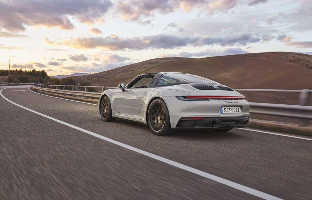 Noul Porsche 911 GTS: 480 de cai putere și transmisie manuală cu 7 trepte - Poza 9