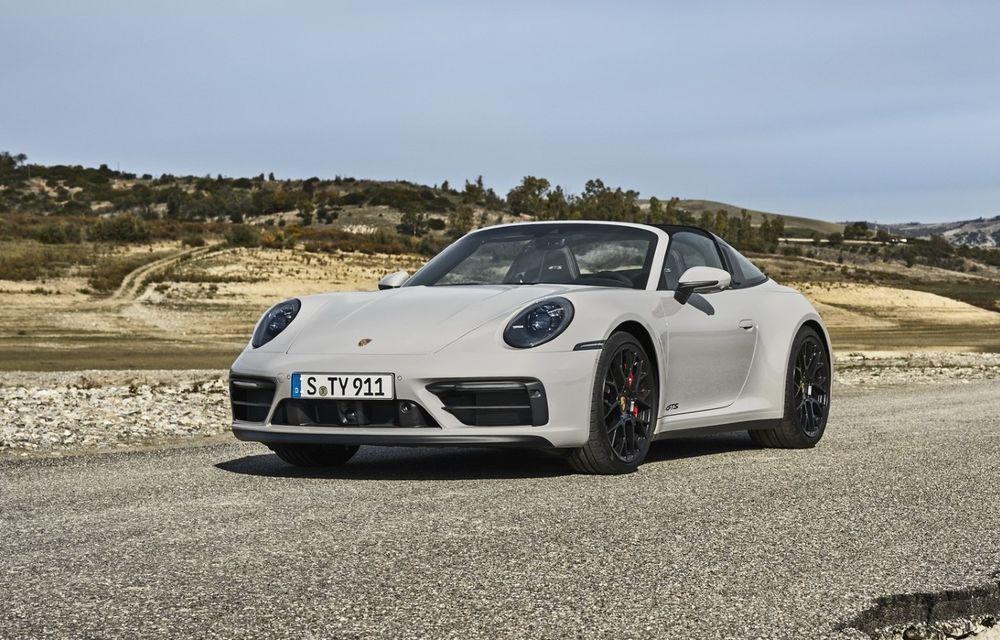 Noul Porsche 911 GTS: 480 de cai putere și transmisie manuală cu 7 trepte - Poza 1