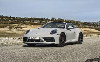 Noul Porsche 911 GTS: 480 de cai putere și transmisie manuală cu 7 trepte