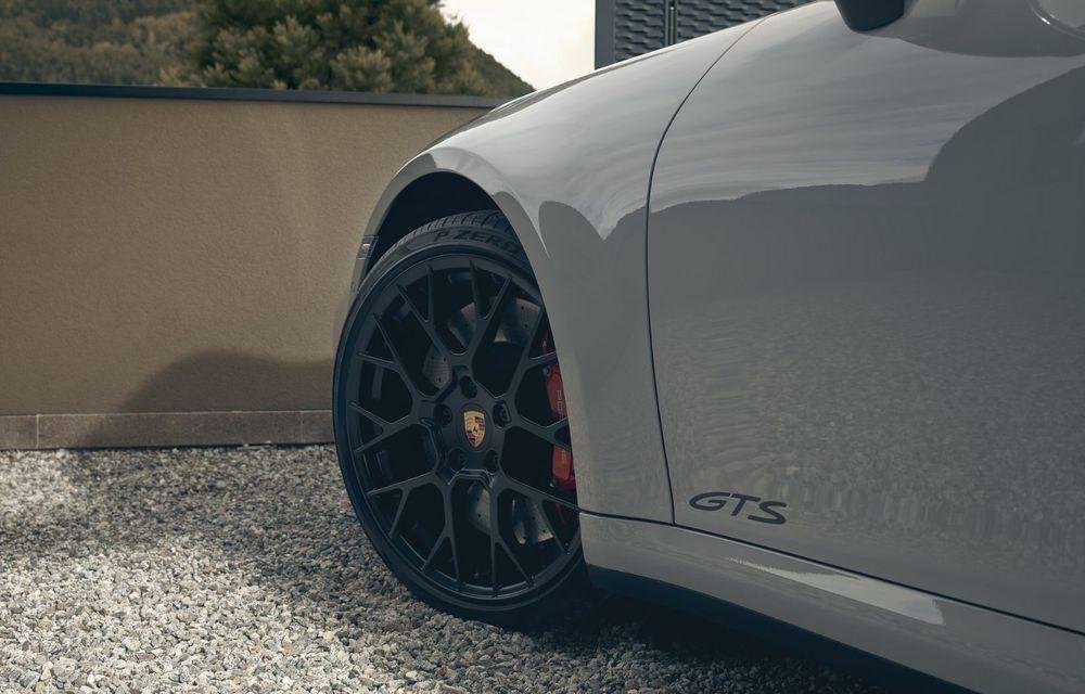 Noul Porsche 911 GTS: 480 de cai putere și transmisie manuală cu 7 trepte - Poza 33