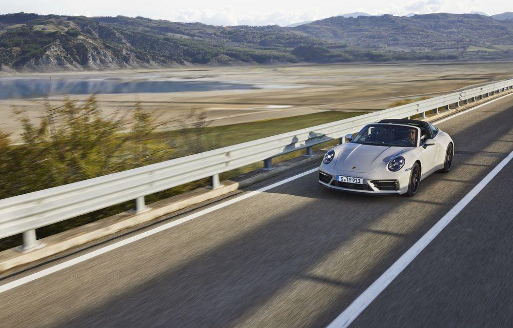 Noul Porsche 911 GTS: 480 de cai putere și transmisie manuală cu 7 trepte - Poza 2