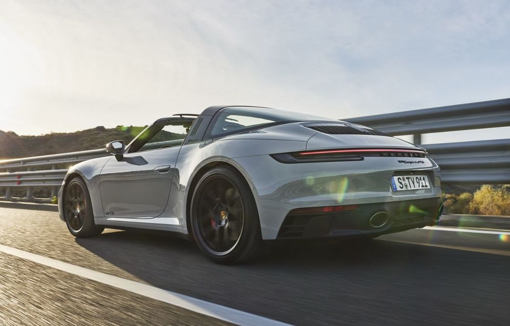 Noul Porsche 911 GTS: 480 de cai putere și transmisie manuală cu 7 trepte - Poza 4
