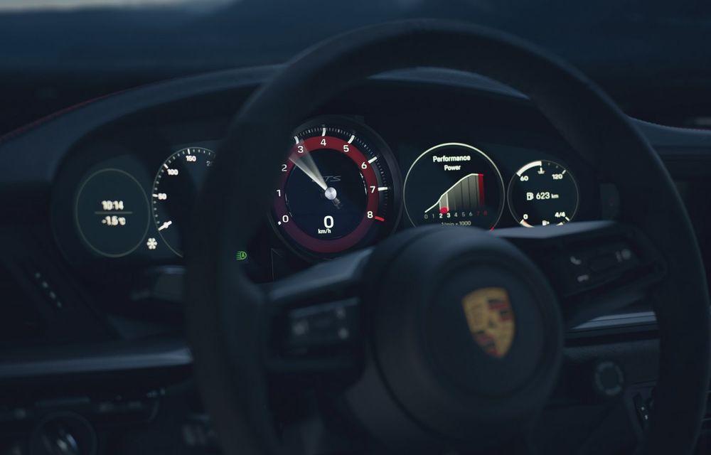 Noul Porsche 911 GTS: 480 de cai putere și transmisie manuală cu 7 trepte - Poza 29
