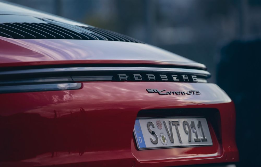 Noul Porsche 911 GTS: 480 de cai putere și transmisie manuală cu 7 trepte - Poza 32