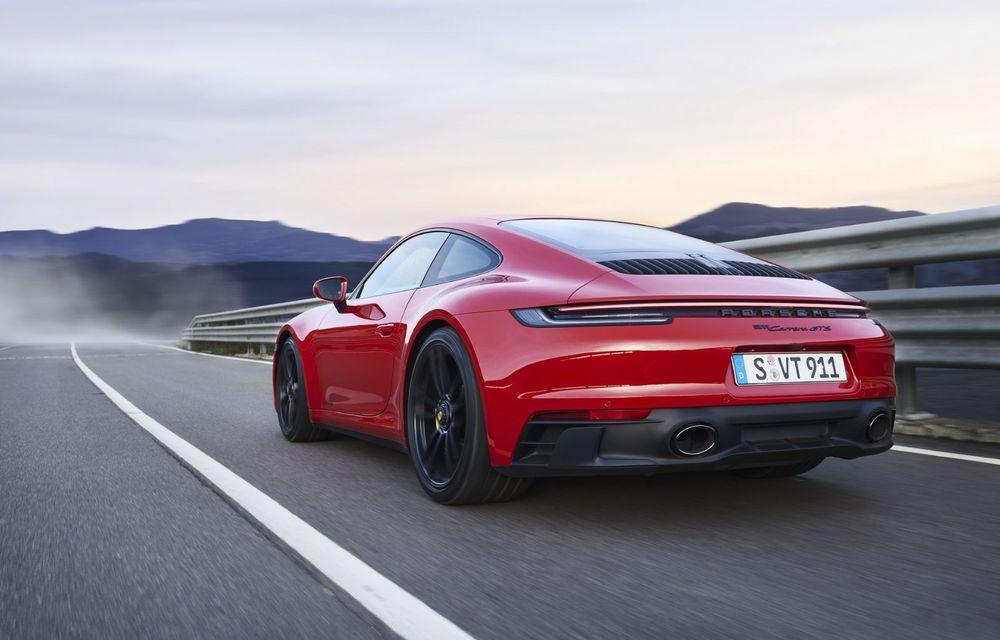 Noul Porsche 911 GTS: 480 de cai putere și transmisie manuală cu 7 trepte - Poza 21