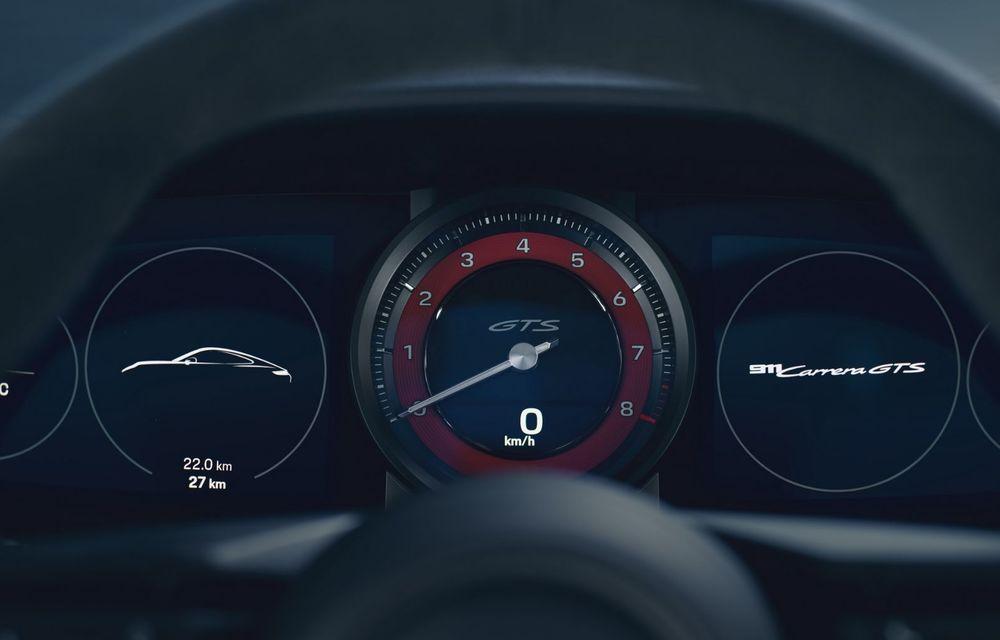 Noul Porsche 911 GTS: 480 de cai putere și transmisie manuală cu 7 trepte - Poza 30