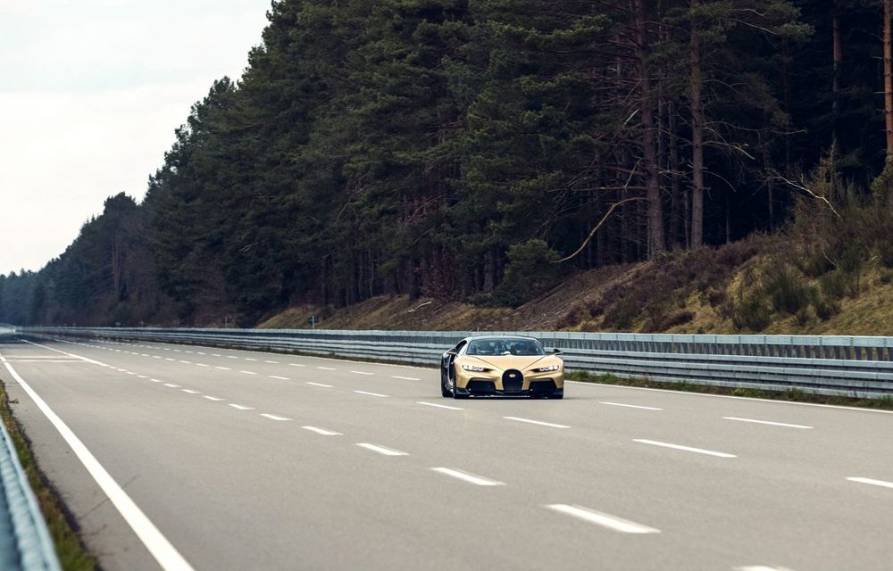 Teste la viteze de 440 km/h cu noul Bugatti Chiron Super Sport - Poza 2