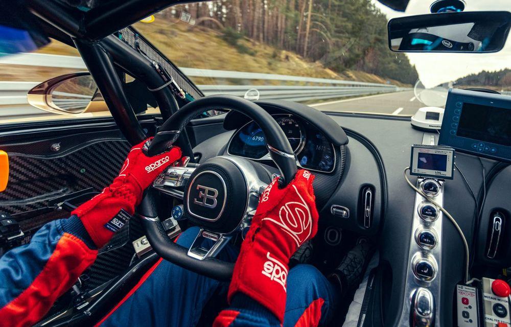 Teste la viteze de 440 km/h cu noul Bugatti Chiron Super Sport - Poza 8