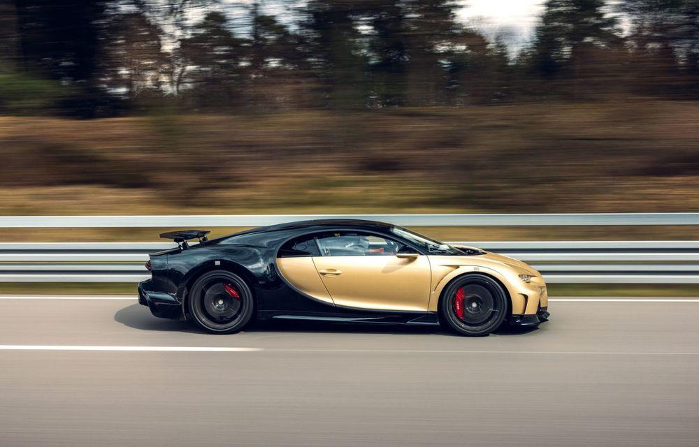 Teste la viteze de 440 km/h cu noul Bugatti Chiron Super Sport - Poza 4